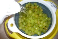 Приготовление винограда