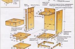 Схема винного шкафа