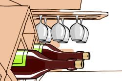 Горизонтальное хранение вина