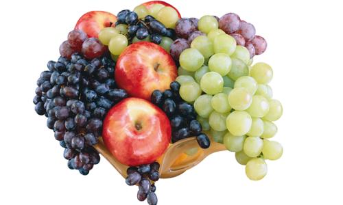 Яблочно - виноградный десерт